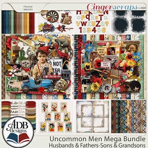 Uncommon Men Combo Bundle by ADB Designs