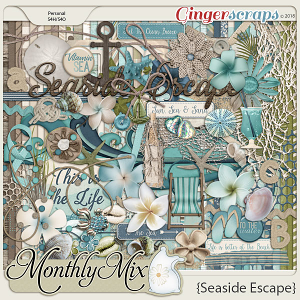 GingerBread Ladies Monthly Mix: Seaside Escape