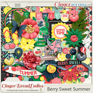 GingerBread Ladies Collab: Berry Sweet Summer