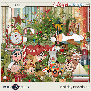 Holiday Hoopla Kit by Karen Schulz