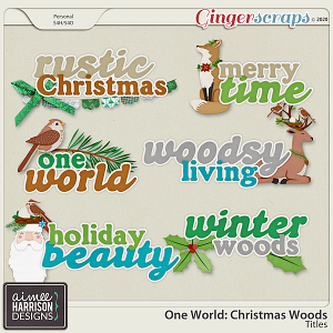 Christmas Woods Titles by Aimee Harrison