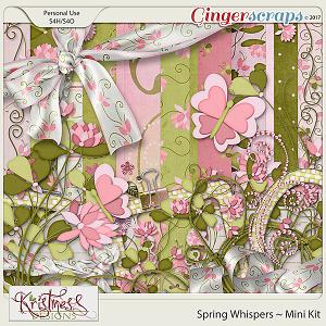 Spring Whispers Mini Kit