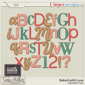 Baked with Love Alpha Pack by Tami Miller and Aimee Harrison