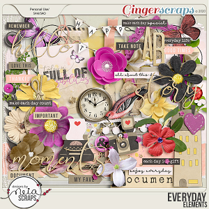 Everyday - Elements - by Neia Scraps