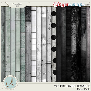 You're Unbelievable Paper Pack by Ilonka's Designs