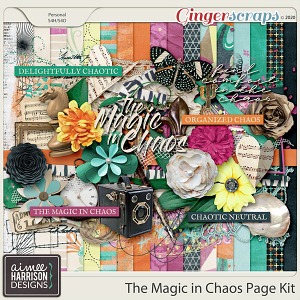 The Magic In Chaos Page Kit by Aimee Harrison