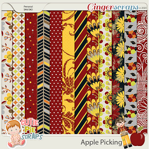 Apple Picking - Papers Pack