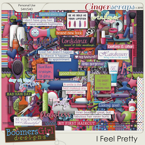 I Feel Pretty by BoomersGirl Designs