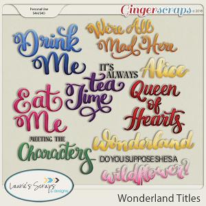 Wonderland Titles