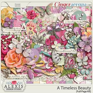 A Timeless Beauty - Full Page Kit
