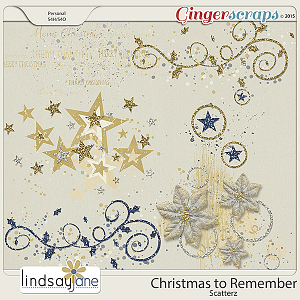 Christmas To Remember Scatterz by Lindsay Jane