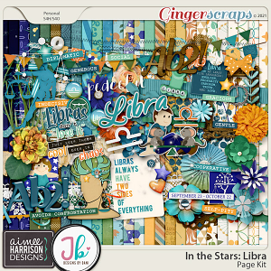 In the Stars: Libra Mega Kit by Aimee Harrison and Just Because Studio