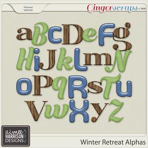 Winter Retreat Alpha Sets by Aimee Harrison