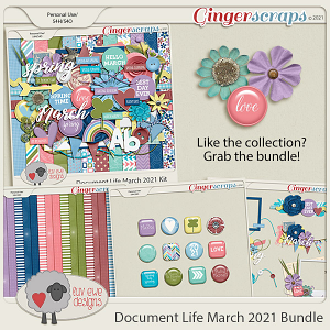 Document Life March 2021 Bundle by Luv Ewe Designs