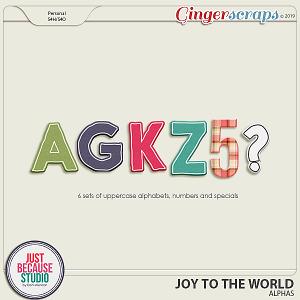 Joy To The World Alphas by JB Studio