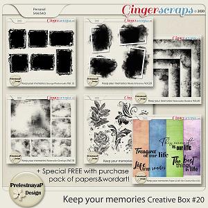 Keep your memories Creative Box #20