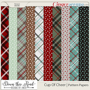 Cup Of Cheer | Pattern Paper Pack