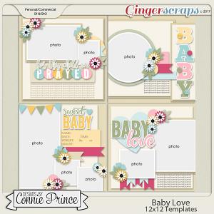 Baby Love - 12x12 Templates (CU Ok)