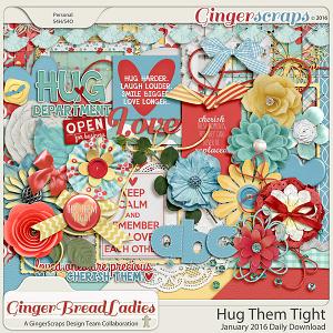 GingerBread Ladies Collab: Hug Them Tight
