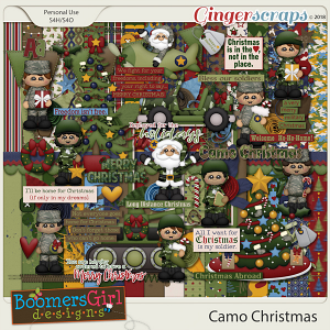 Camo Christmas by BoomersGirl Designs