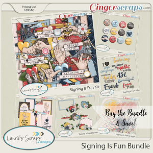 Signing Is Fun Bundle