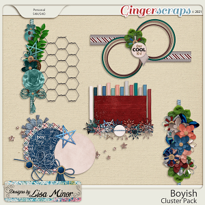Boyish Cluster Pack from Designs by Lisa Minor