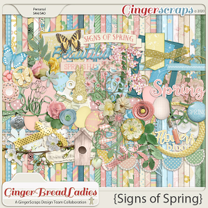 GingerBread Ladies Collab: Signs Of Spring