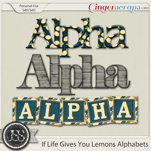 If Life Gives You Lemons Alphabets