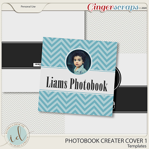 Photobook Creater Cover 1 by Ilonka's Designs