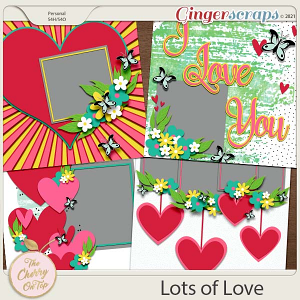 The Cherry On Top:  Lots Of Love Templates