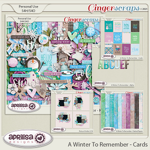 A Winter to Remember - Bundle by Aprilisa Designs