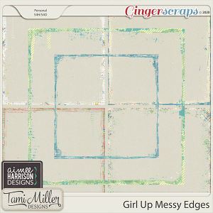 Girl Up Messy Edges by Aimee Harrison and Tami Miller