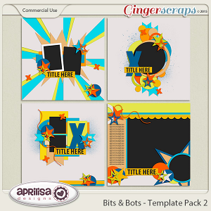 Bits And Bots - Template Pack 2
