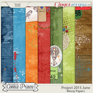 Project 2015 June - Messy Paper Pack