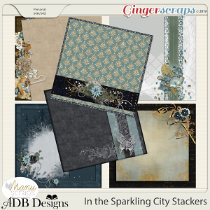 In The Sparkling City Stackers by ADB Designs