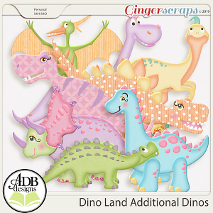 Dino Land Discovery Additional Dinos by ADB Designs