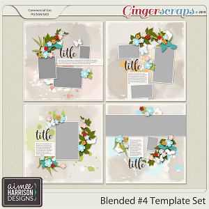 Blended #4 Templates by Aimee Harrison