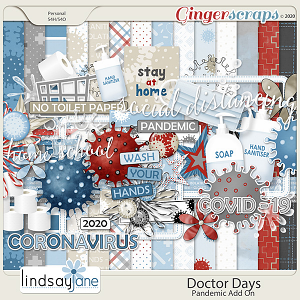Doctor Days Pandemic by Lindsay Jane