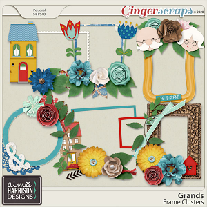 Grands Frame Clusters by Aimee Harrison