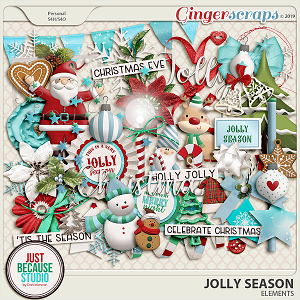 Jolly Season Elements by JB Studio