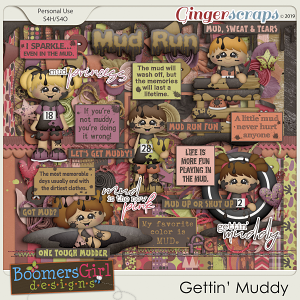 Gettin' Muddy by BoomersGirl Designs