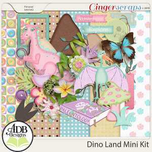 Dino Land Discovery Add-on Mini Kit by ADB Designs