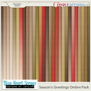 Season's Greetings Ombre Paper Pack