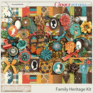 Family Heritage Digital Kit