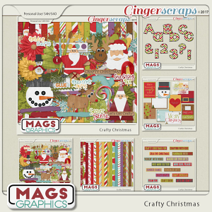 Crafty Christmas BUNDLE by MagsGraphics