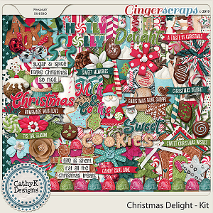 Christmas Delight - Kit by CathyK Designs