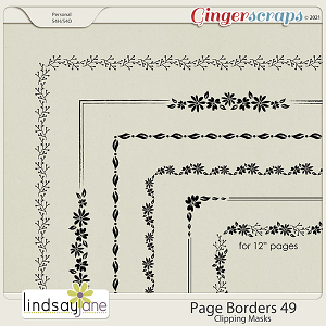 Page Borders 49 by Lindsay Jane