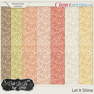 Let It Shine Glitter Sheets