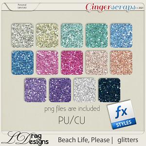 Beach Life, Please: Glitterstyles by LDragDesigns