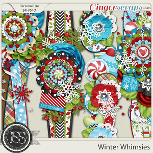 Winter Whimsies Page Borders